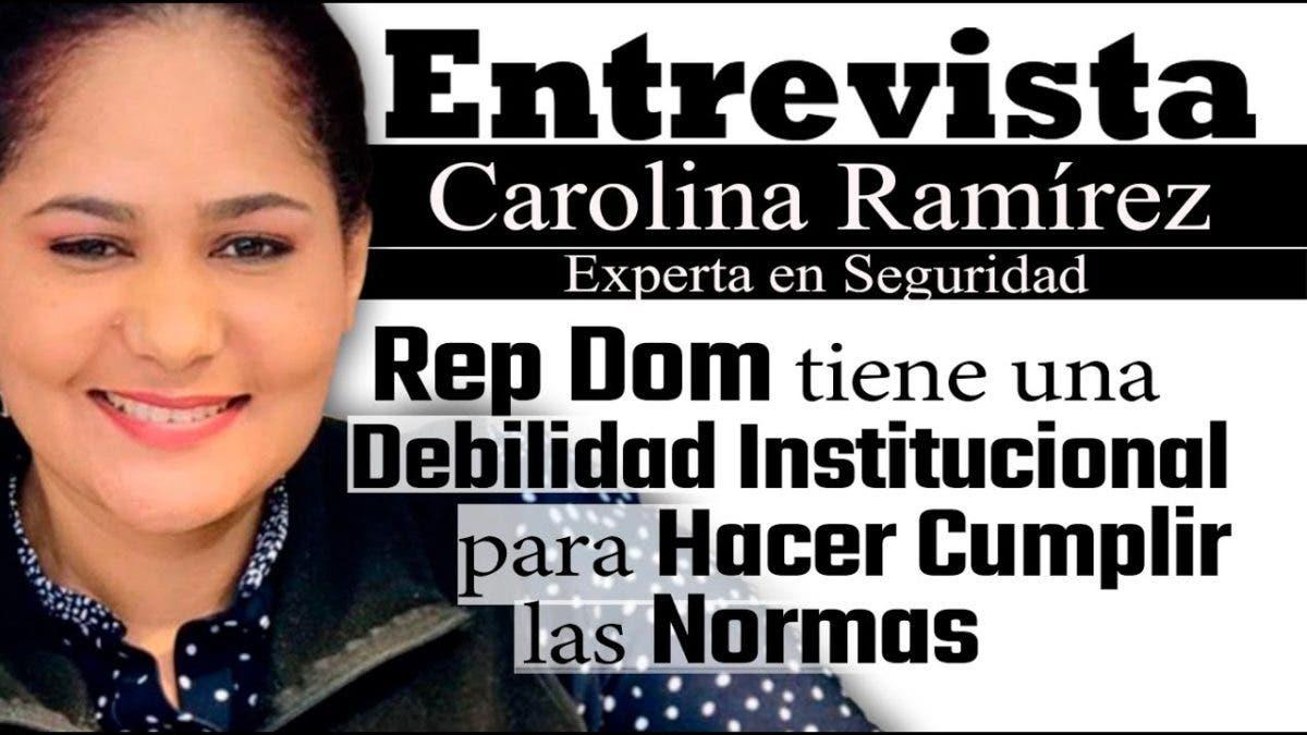 Entrevista a Carolina Ramírez en el programa Telematutino 11