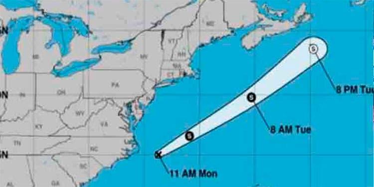 Meteorólogos vigilan la posible formación de una depresión en el Atlántico