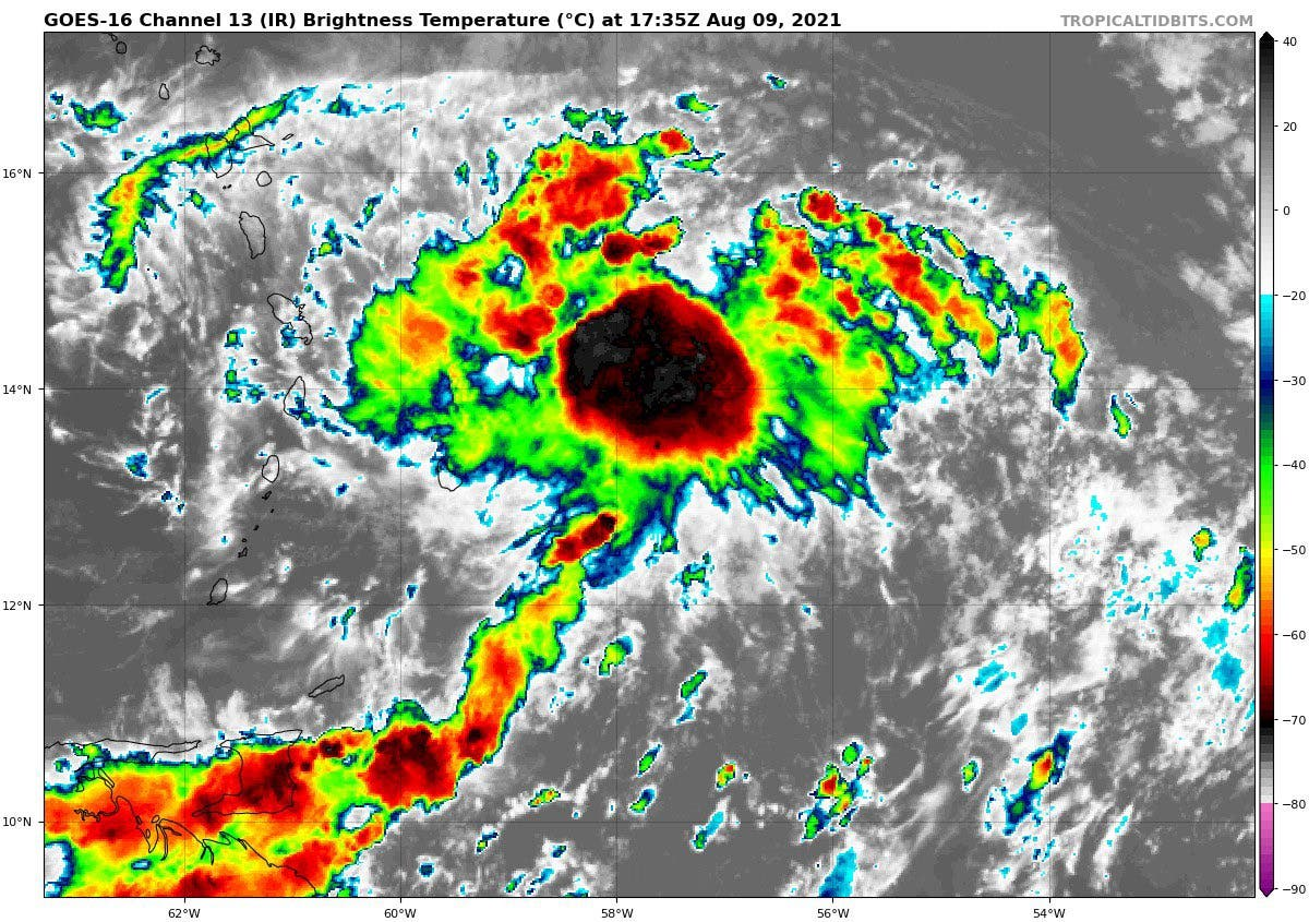 Área de baja presión tiene 80% de posibilidades de convertirse en ciclón;  pudiera afectar a RD