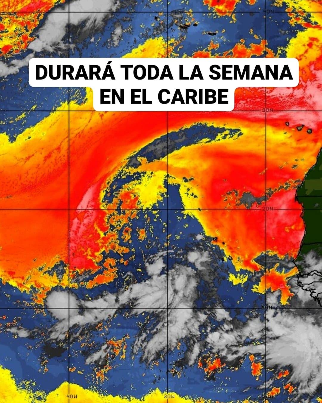Polvo de Sahara incidirá en el Caribe toda la semana