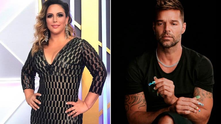 """""""Sigo enamorada de ti"""": la confesión de Angélica Vale a Ricky Martin"""