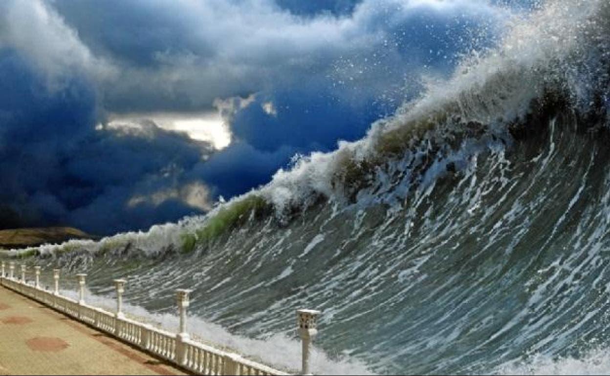 Desvelan el origen de grandes tsunamis generados por terremotos moderados
