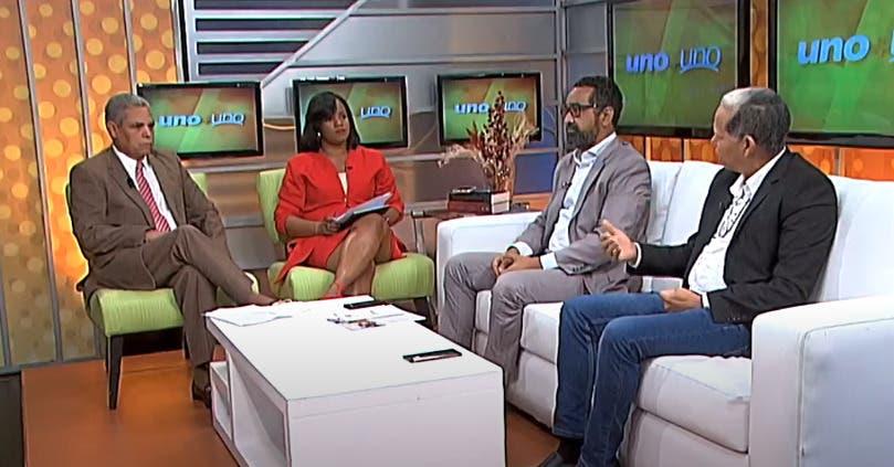 Entrevista a Domingo Matías en el programa Uno + Uno