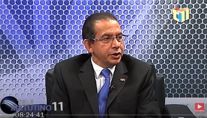 Entrevista a Rubén Peralta Rosario en el programa Telematutino 11
