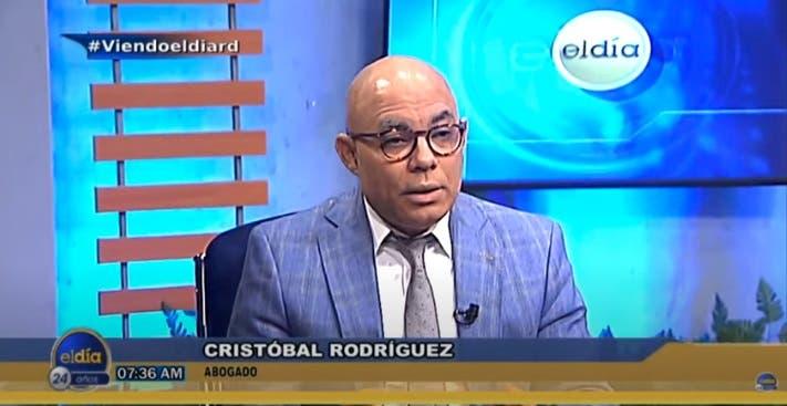 Entrevista a Cristóbal Rodríguez en el programa El Día