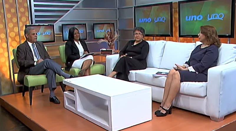 Entrevista a Katia Miguelina Jiménez en el programa Uno + Uno