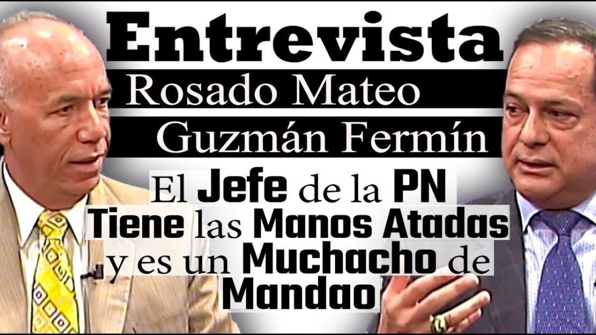 Entrevista a Rosado Mateo y Guzmán Fermín en el programa Telematutino 11