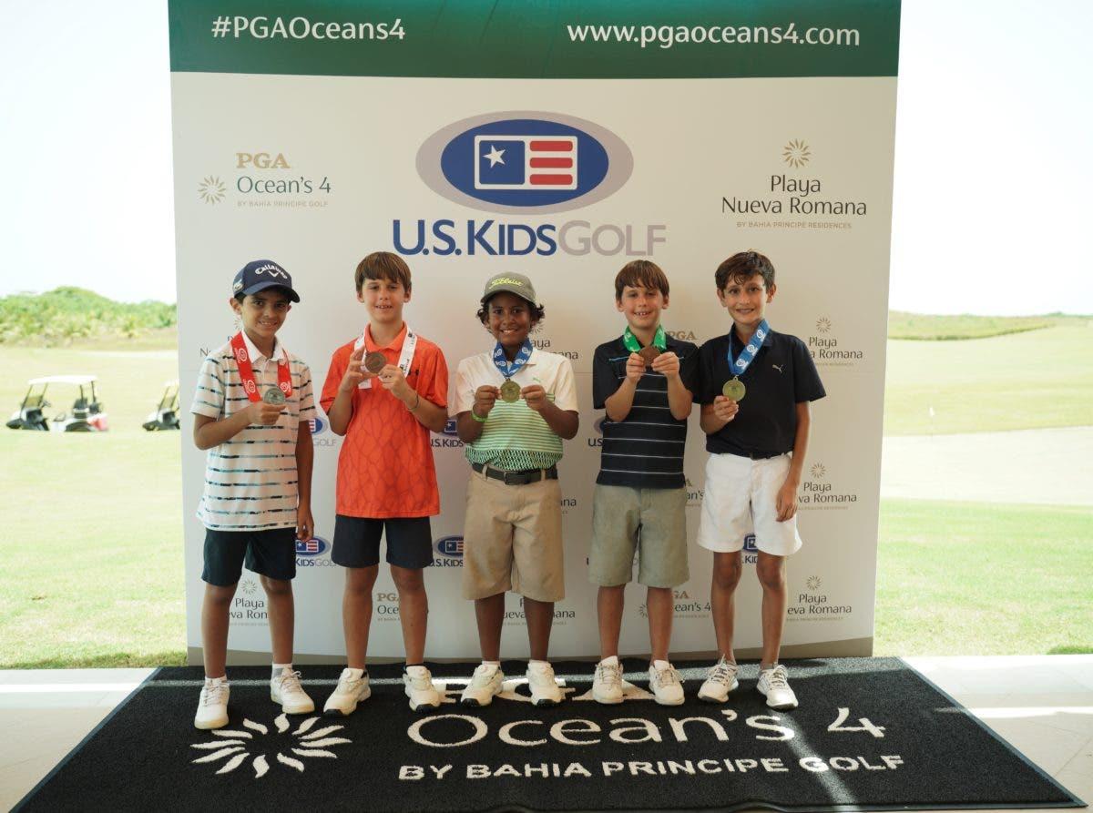 PGA Ocean's 4 celebra en sus instalaciones el torneo internacional US KIDS GOLF