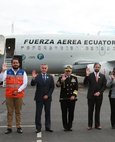 Ecuador dona ayuda humanitaria a Haití