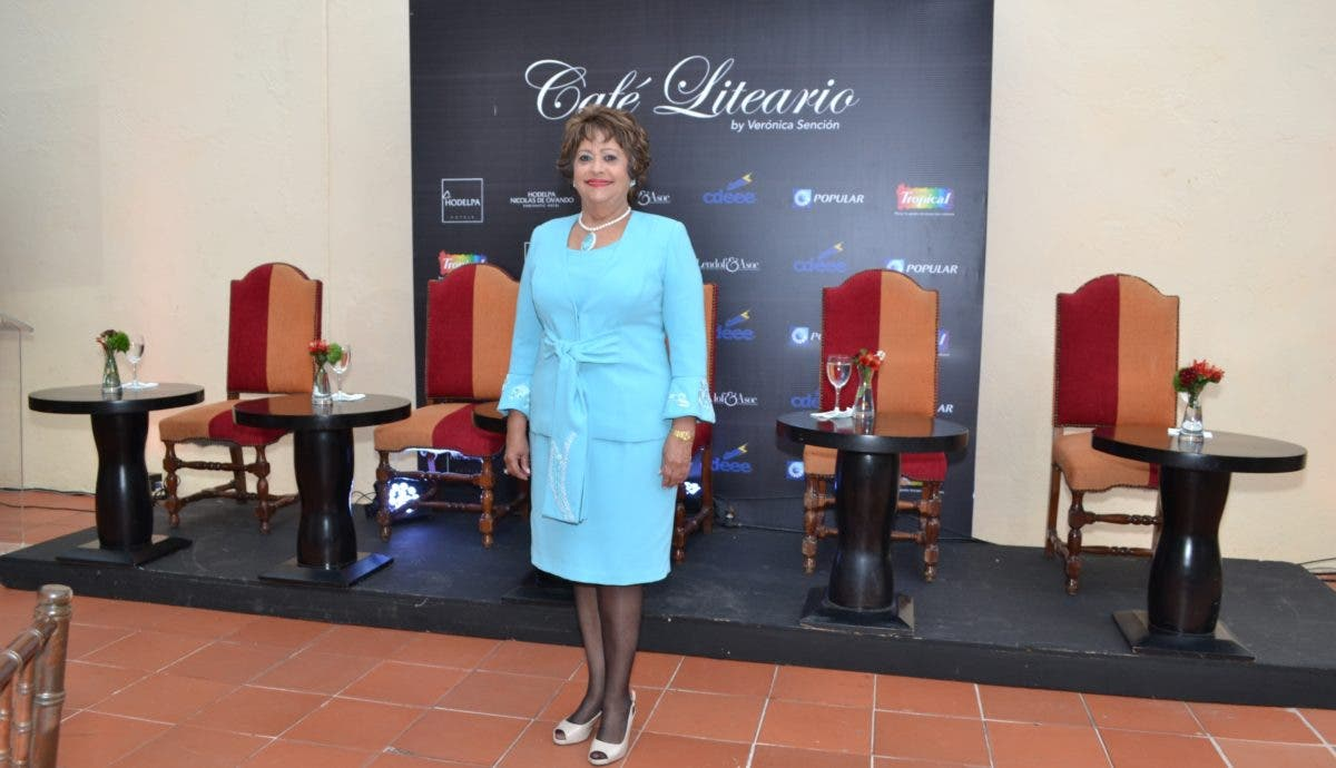 Verónica Sención, un referente cultural en RD