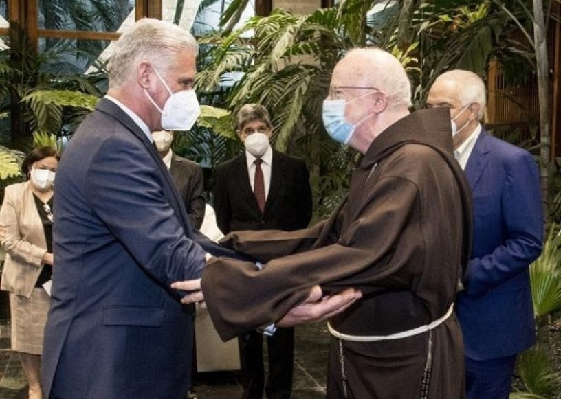 Cardenal EEUU se interesa vacunas cubanas