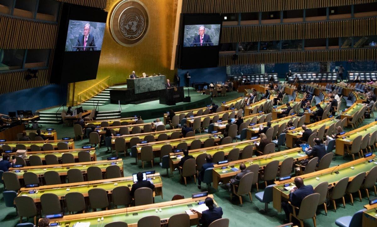 Asamblea ONU abre con temas covid-19 y clima