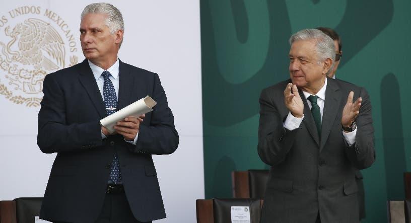 Obrador pide EU quitar bloqueo a los cubanos