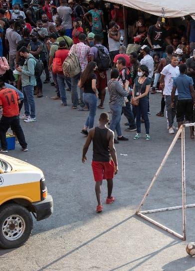 Haitianos saturan albergues México