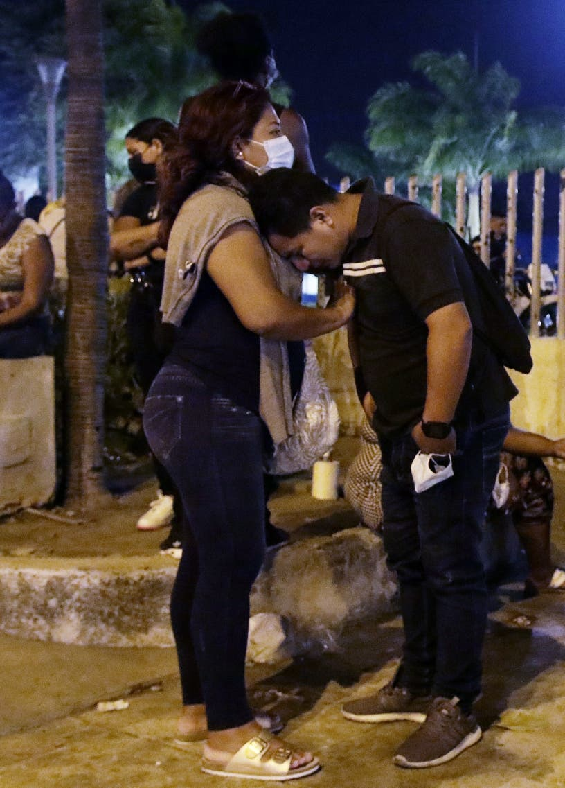 Sube 116 cifra muertos en cárcel de Ecuador
