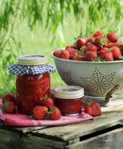 La fresa es multifacética, con ella preparamos exquisitos platos, así como salsas, mermeladas... Fotos fuente externa.