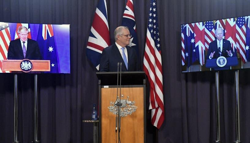 EEUU, R.Unido y Australia hacen pacto de defensa