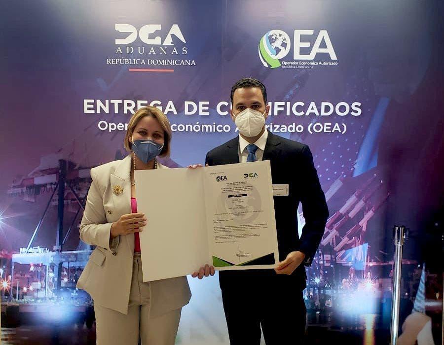 Loteka: primera lotería dominicana certificada como operador económico autorizado
