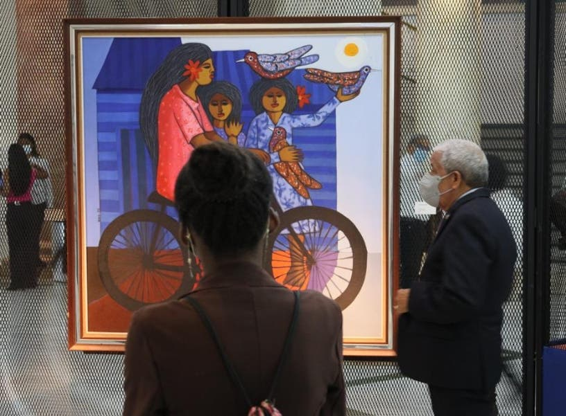 "Exposición; ""Cándido Bidó siempre presente"""