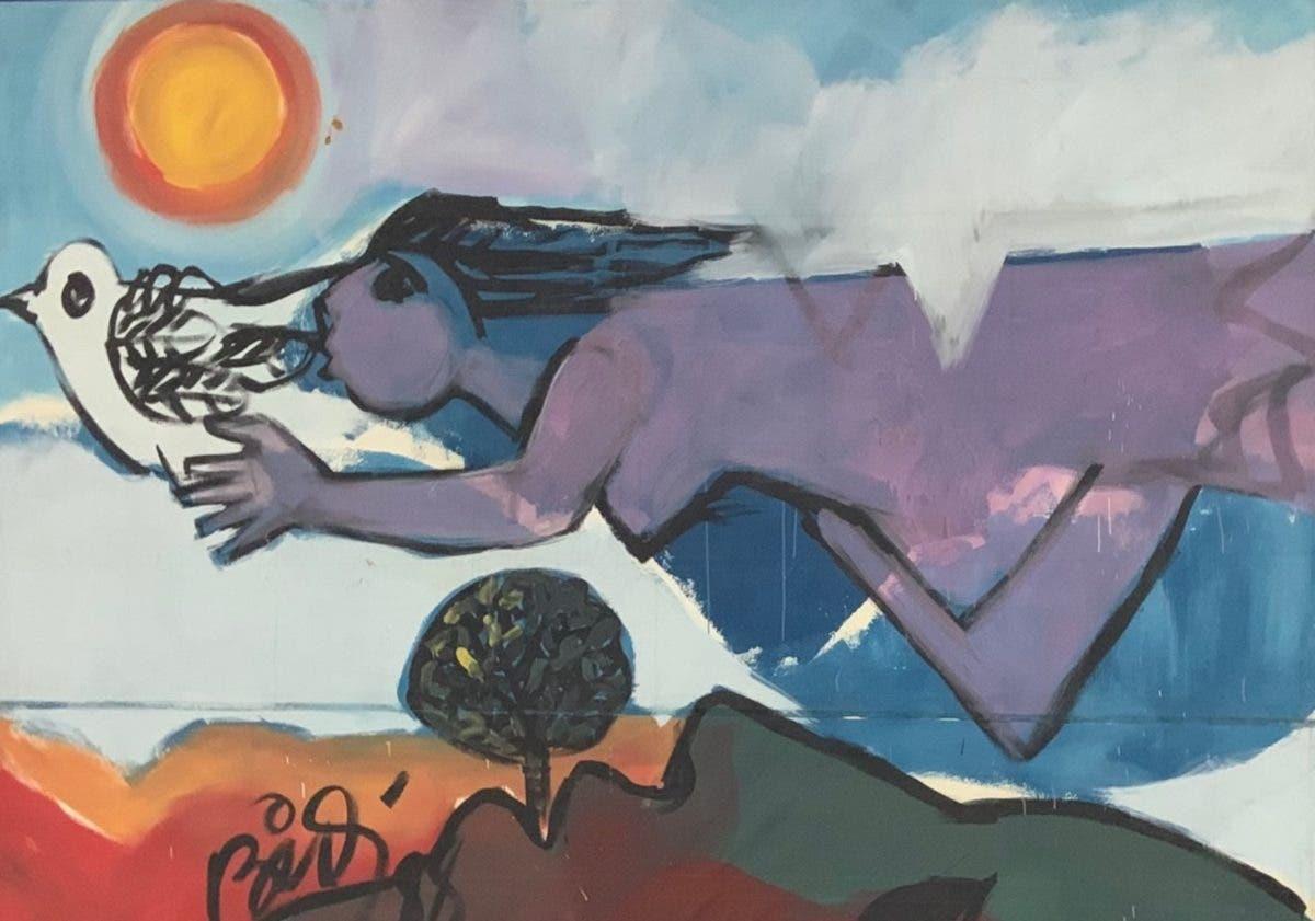 Cándido Bidó en Bellas Artes