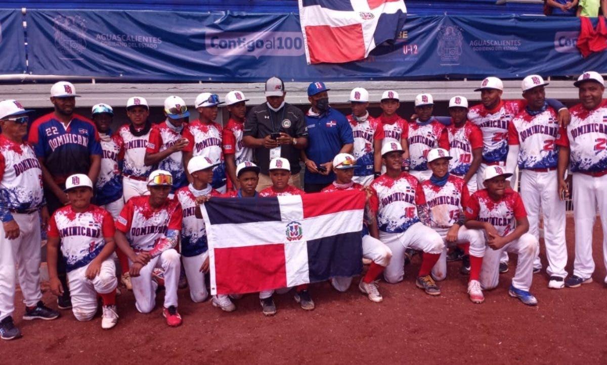RD se corona campeón en Panamericano Béisbol U-12