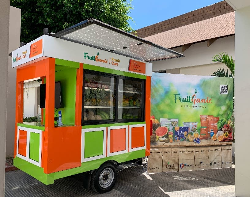 Comercio. Proyecto FruitGanic; Tras una nueva visión del frutero callejero