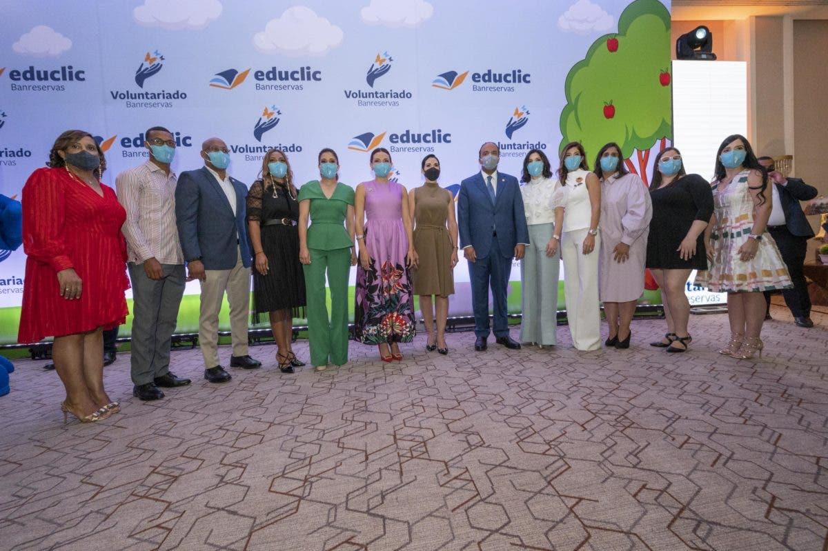 Voluntariado Banreservas presenta Educlic, una plataforma digital educativa
