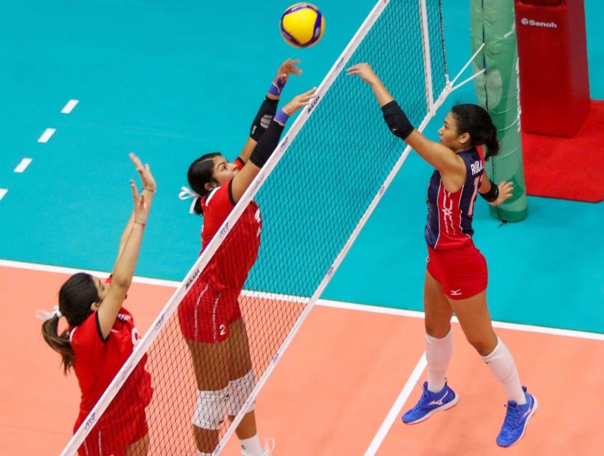 Voleibol RD vence 3-1 a Puerto Rico en el Mundial U-18; va por puesto 9-12
