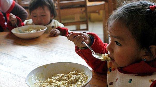 Unicef: menores de 2 años no reciben los alimentos que necesitan