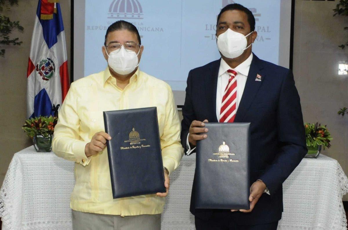 Miderec y LDM firman acuerdo en favor de atletas