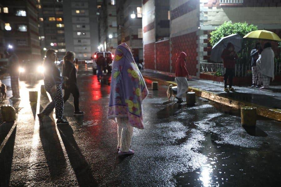 Fotos y videos: Terremoto de magnitud 7,1 sacude el centro y sur de México