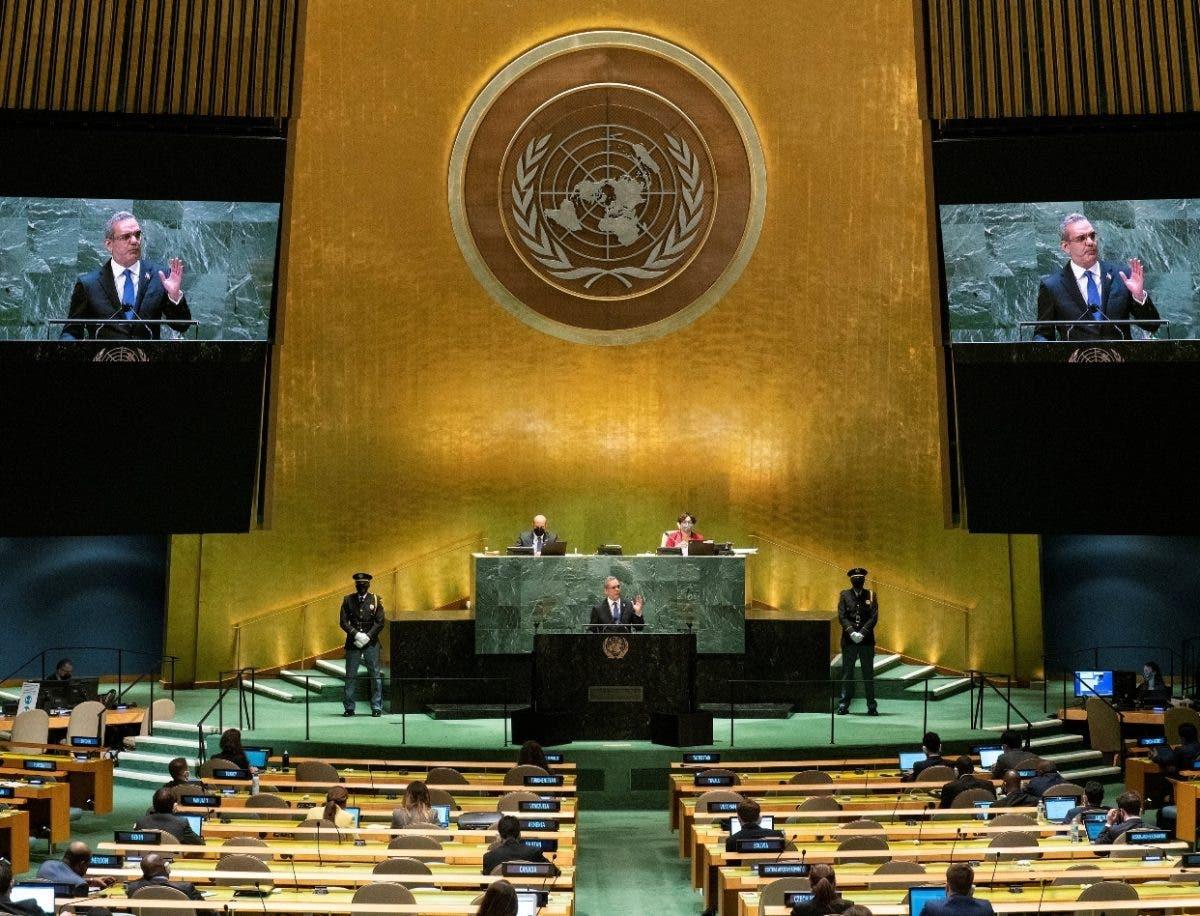 Voceros valoran de positivo discurso  Abinader en ONU