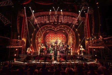 "En esta imagen difundida por Boneau/Bryan-Brown, el elenco en ""Moulin Rouge! The Musical"". (Matthew Murphy/Boneau/Bryan-Brown vía AP)"