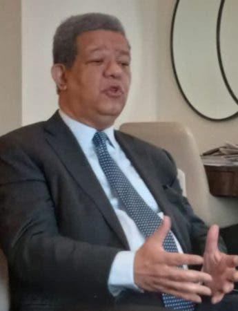 El expresidente Leonel Fernández Reyna.