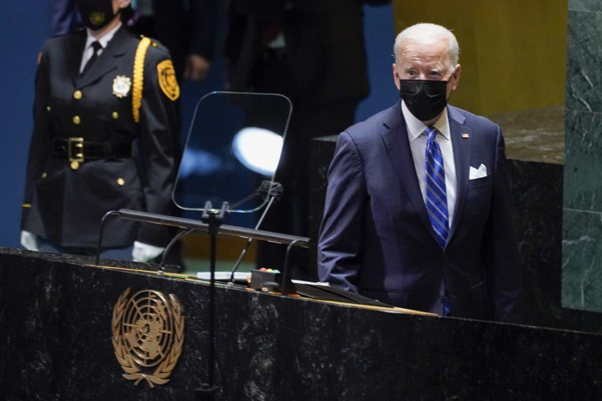 """Joe Biden en la ONU: El mundo está en un """"punto de inflexión"""""""