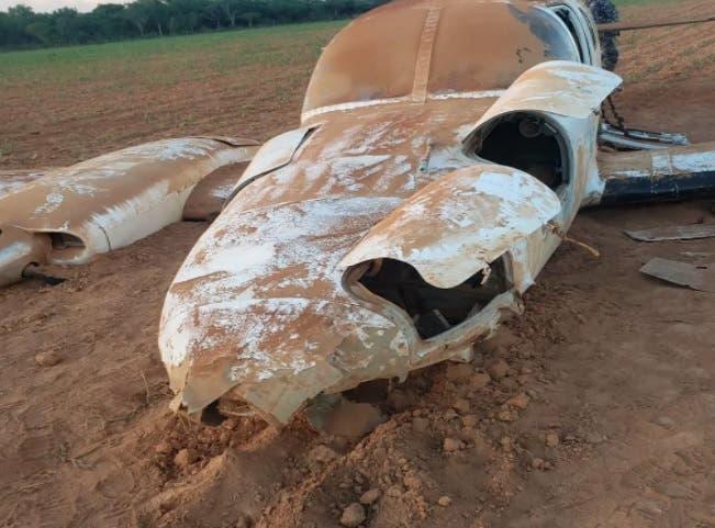 Avioneta de Sudamérica que se accidentó entre Oviedo y Pedernales venía con droga