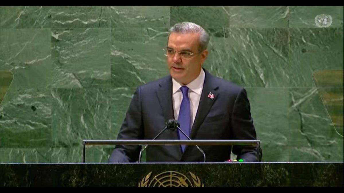 Las tres acciones «urgentes y necesarias» planteadas por Luis Abinader en la ONU