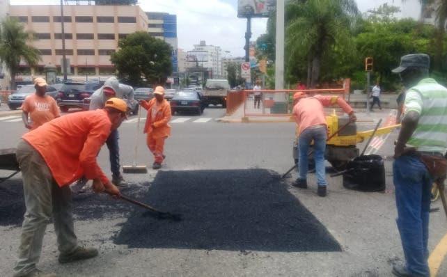 Obras Públicas restringirá tránsito en Winston Churchill a partir de las 9:00 pm por trabajos