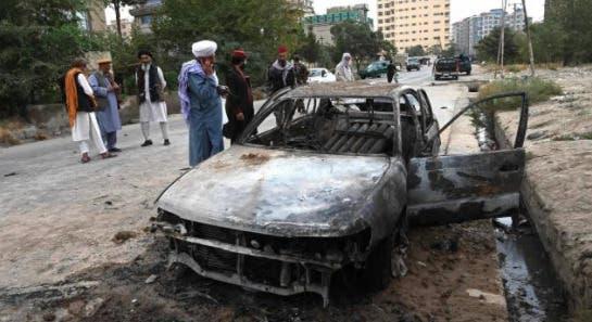 """EEUU admite que mató por """"error"""" a 10 civiles en ataque con drones en Kabul"""