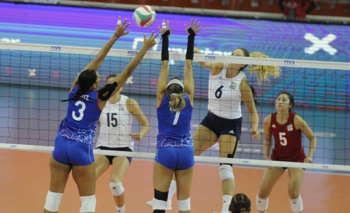 Estados Unidos vence a Puerto Rico y sigue invicto en Copa Panamericana de Voleibol