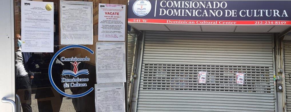 Autoridades Nueva York cierran Comisionado de Cultura