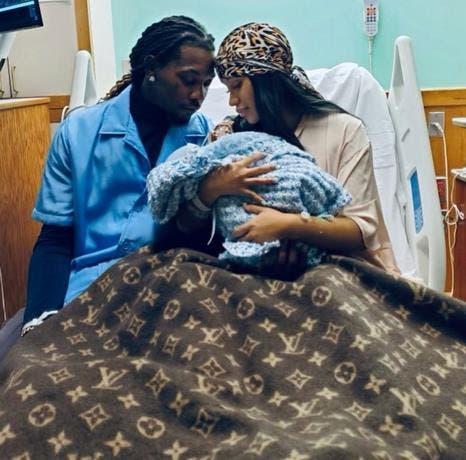 Ya nació segundo bebé de Cardi B y Offset