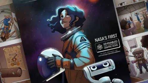 La NASA elige Callie Rodríguez como primera mujer latina en pisar la Luna en un cómic