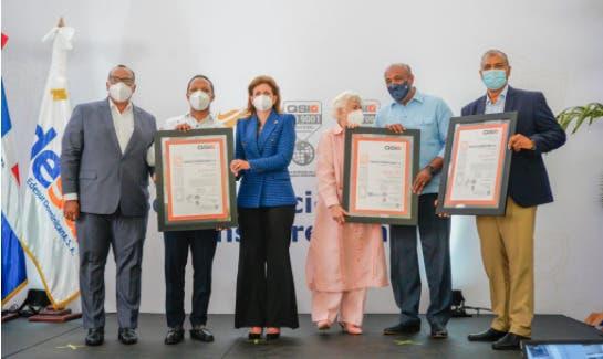 Edesur logra tres certificaciones internacionales bajo la norma ISO