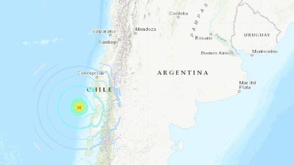 Sismo en Chile de 6,6 grados sacudió la zona centro y sur del país
