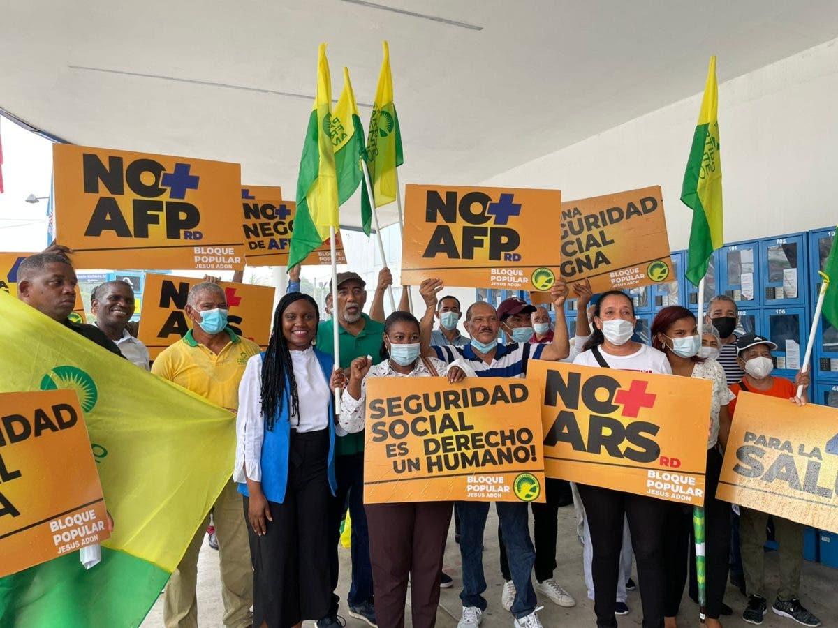 En imágenes y video: Así transcurrió manifestación Coalición Digna por un mejor sistema de salud