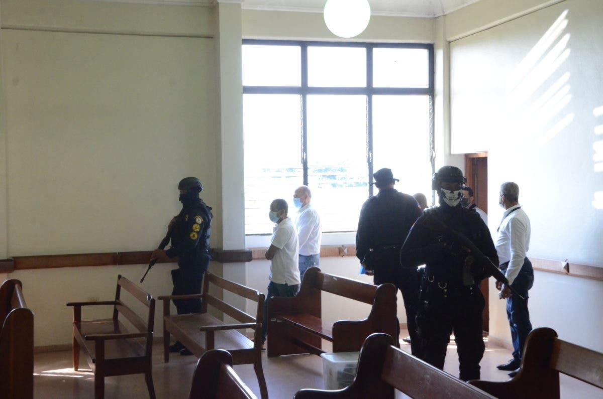 Sala de audiencia donde se conoce medidas de coerción caso Falcón resulta pequeña