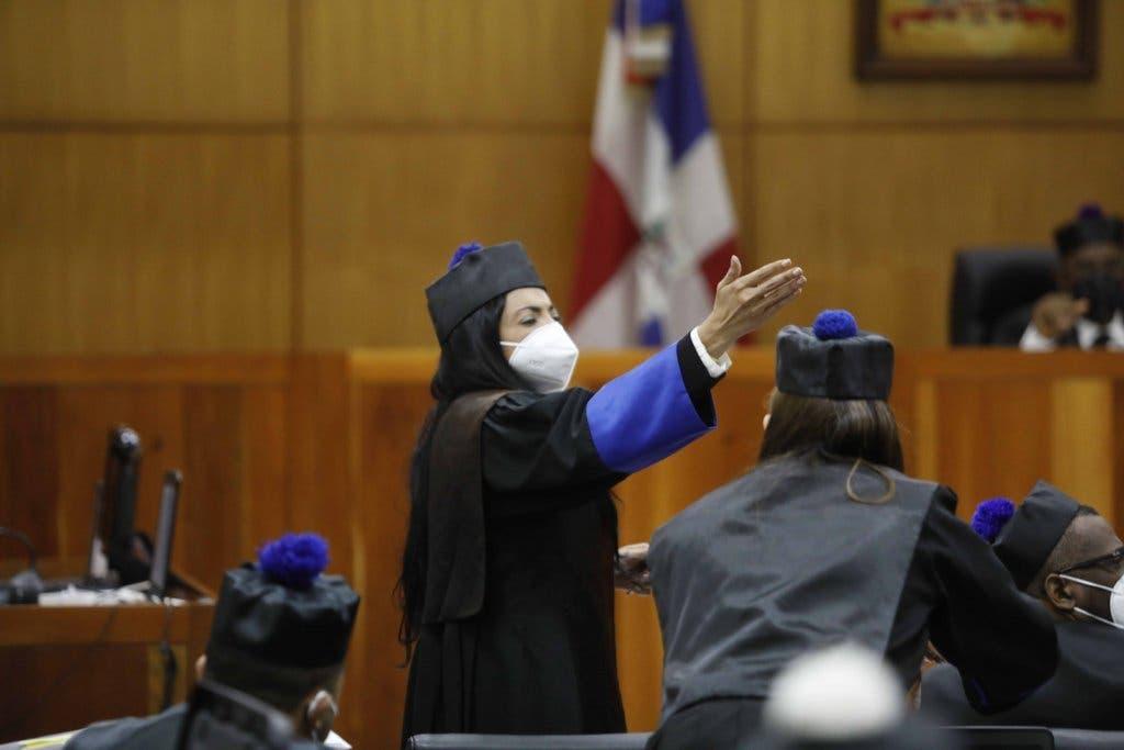 Caso Medusa: Yeni Berenice escenifica intenso choque verbal con la jueza y Jean Alain