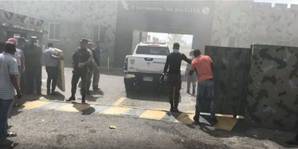 Autoridades controlan motín Fortaleza Palo Hincado en Cotuí; 13 heridos