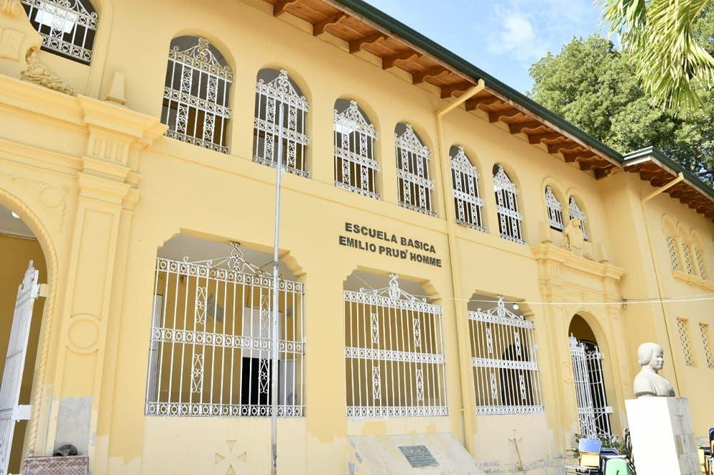 Tras 4 años de espera por su rehabilitación, escuela Emilio Prud´Homme estará lista para la docencia